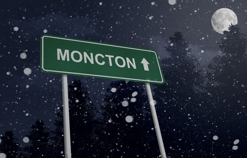 Move to Moncton in New Brunswick, Canada.