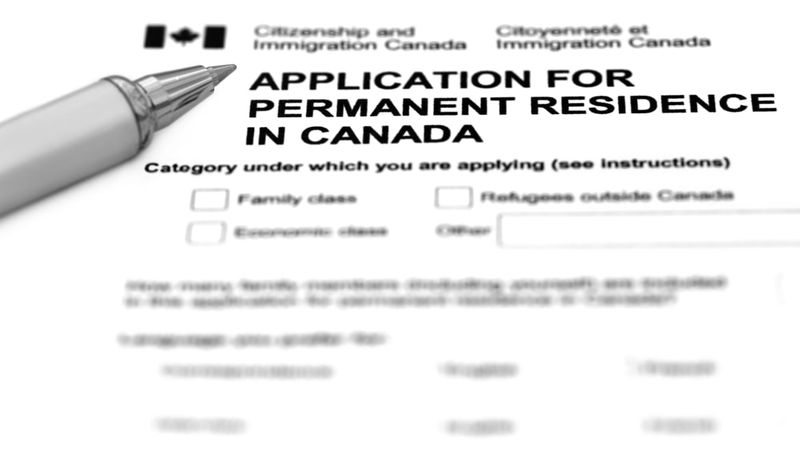 application for permanent residence in Canada