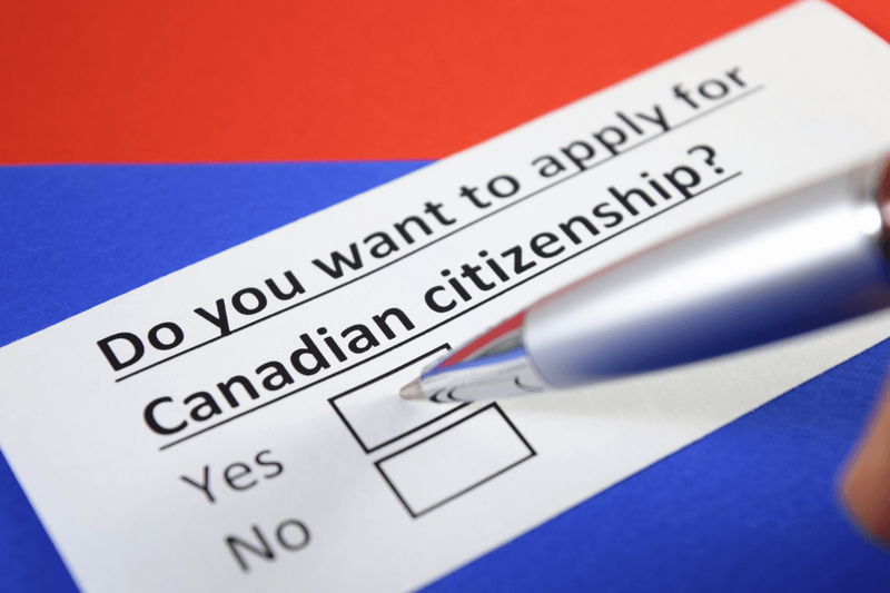 Apply for Canadian citizenship image