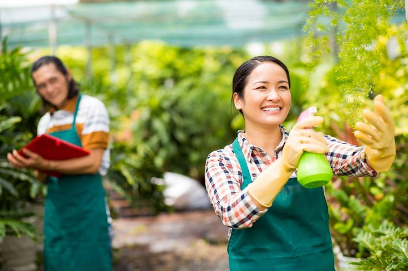 Asian women farmer in Canada | business immigration to Canada
