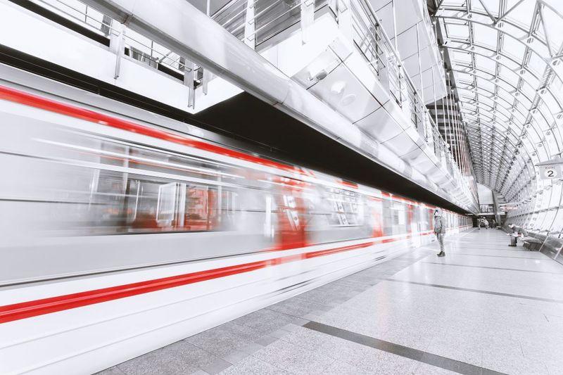 blur commuter train Canada Express Entry