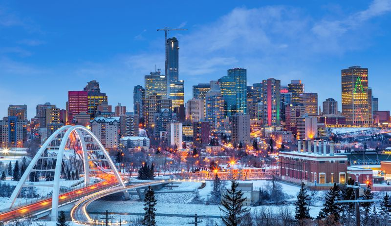 business district Canada
