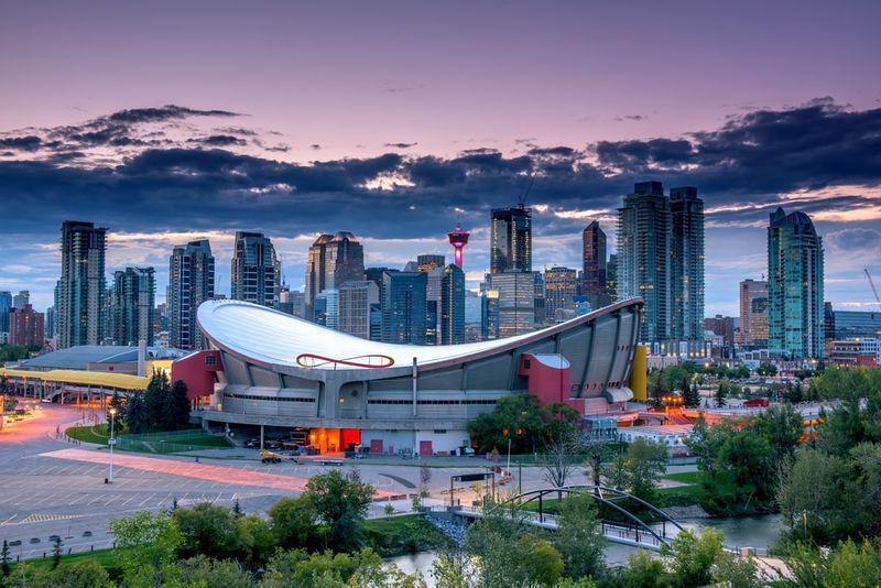 Calgary, Alberta is a popular city for people who earn Canadian PR.