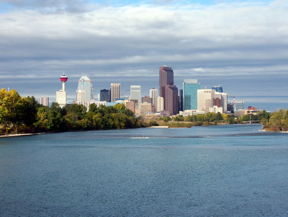 city of Calgary during the day