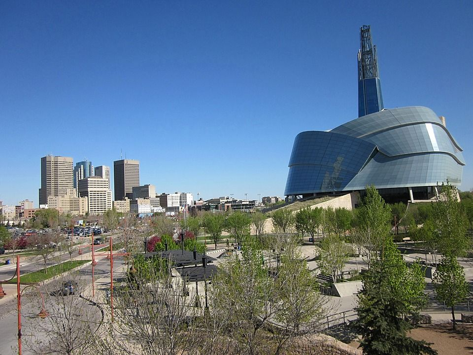 Museum of human rights in Winnipeg Manitoba
