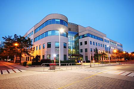McMaster university campus in hamilton