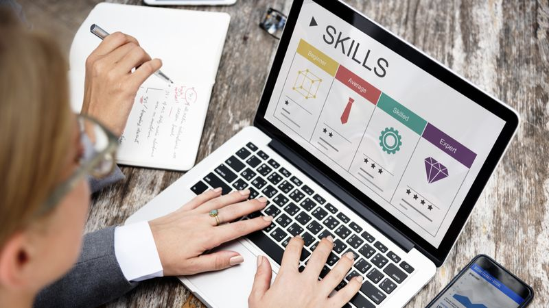 career skills with personal typing on laptop    Jobs in Canada
