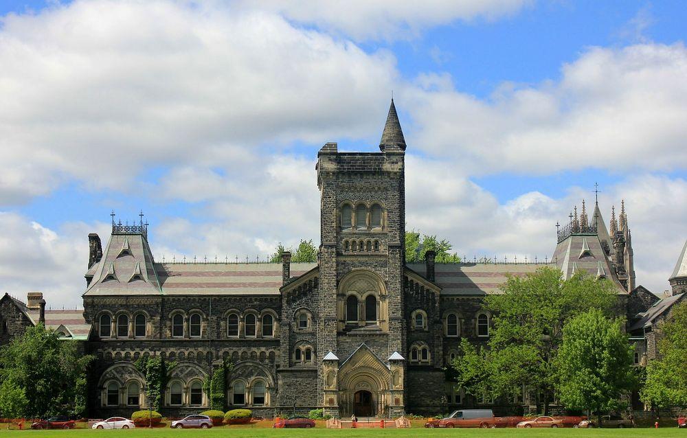 university campus in Toronto