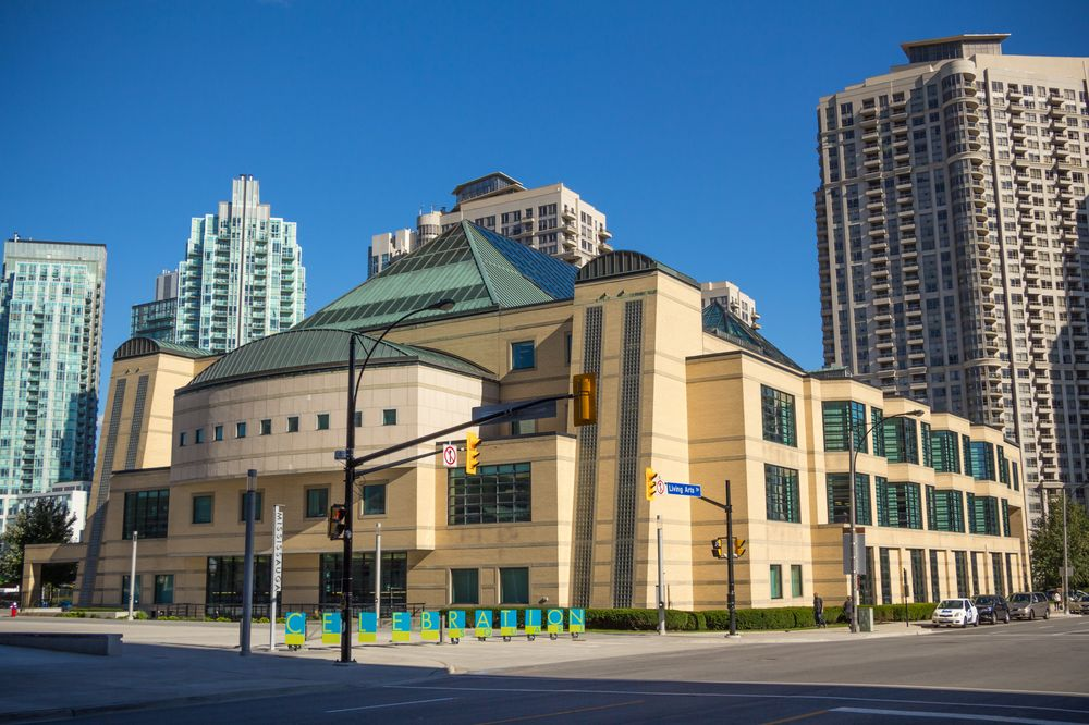 Central Library, Mississauga Ontario