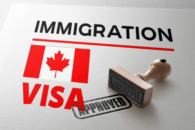 express entry canada immigration visa stamp
