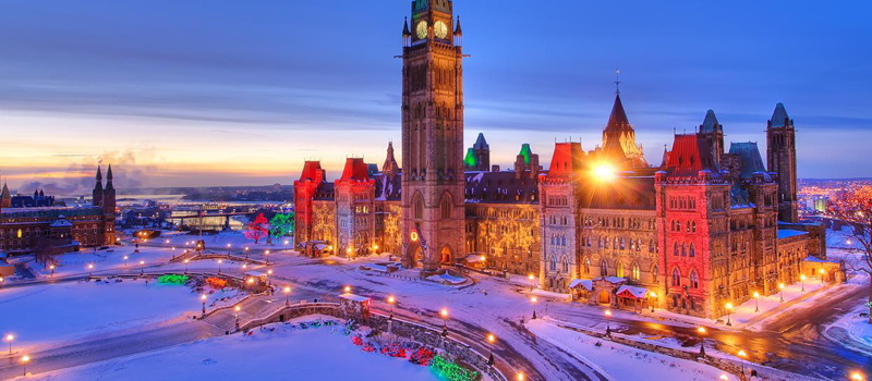 White winters in Canada is a major part of the country's character. Across Canada events and festivals are held throughout the winter months, from ice sculptures to ice skating, dining, music and even beard growing competitions.