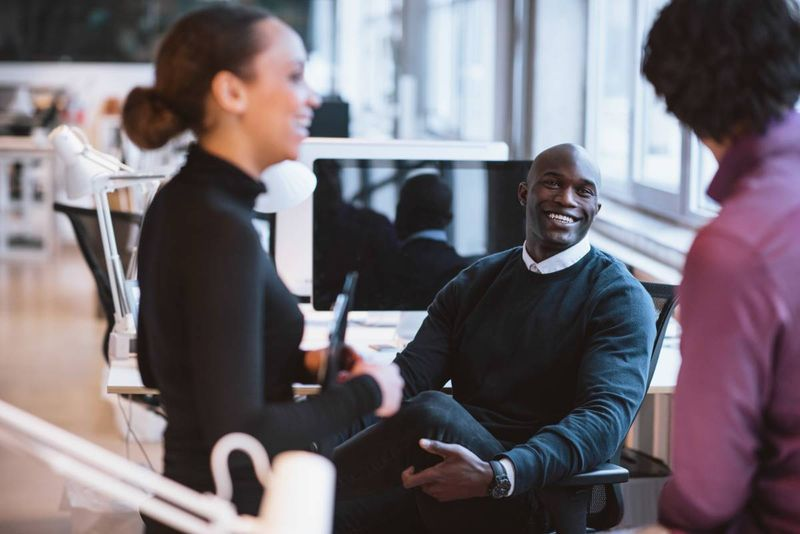 happy African-american people in office | how to apply for a Canadian visa from Kenya
