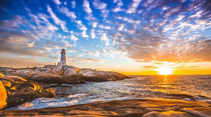 Backpack Visit Canada-Nova Scotia