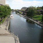 Rideau Canal in summer, Ottawa