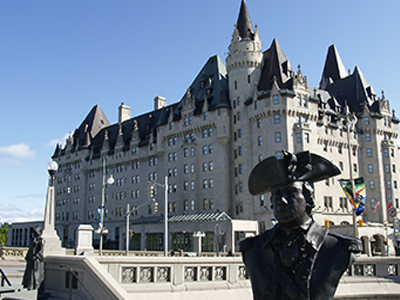Château Laurier in Quebec