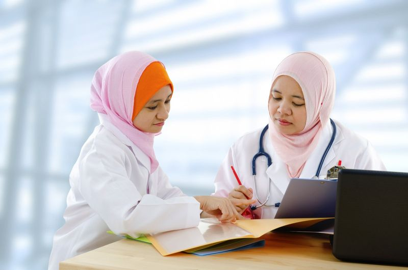 medical examination by Malaysian doctors