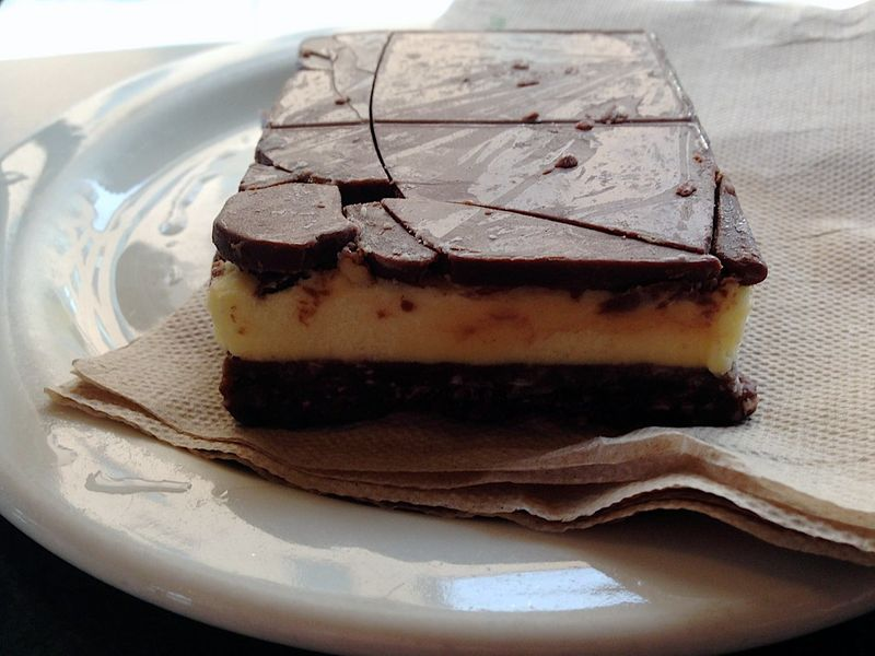 Nanaimo bars   live and work in Canada