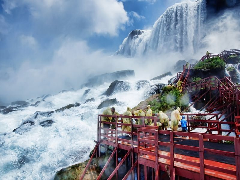 Niagara Falls is the go-to destination for new Canadian PR persons.