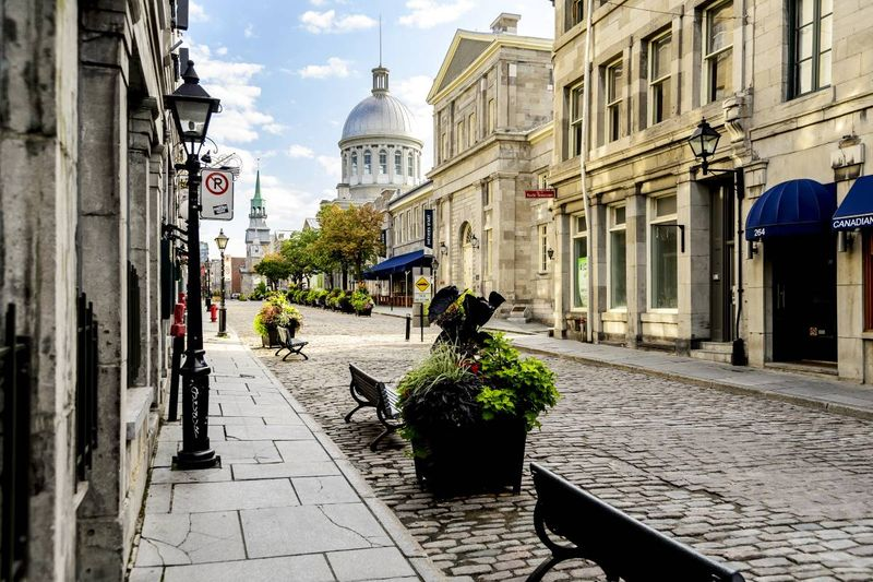 Old city Montreal Quebec Canada |  how to apply for a visa to Canada from the Dominican Republic