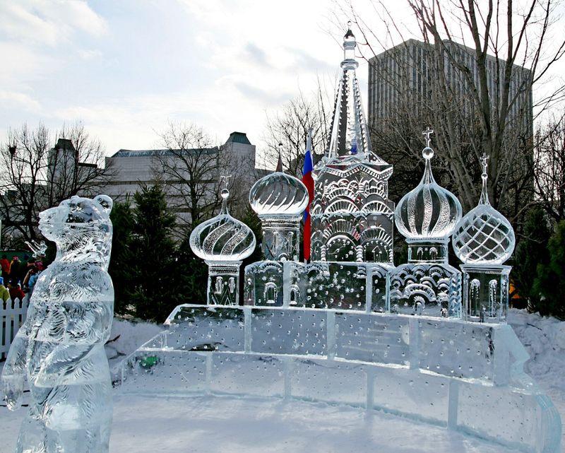 Ottawa winterlude ice sculptures