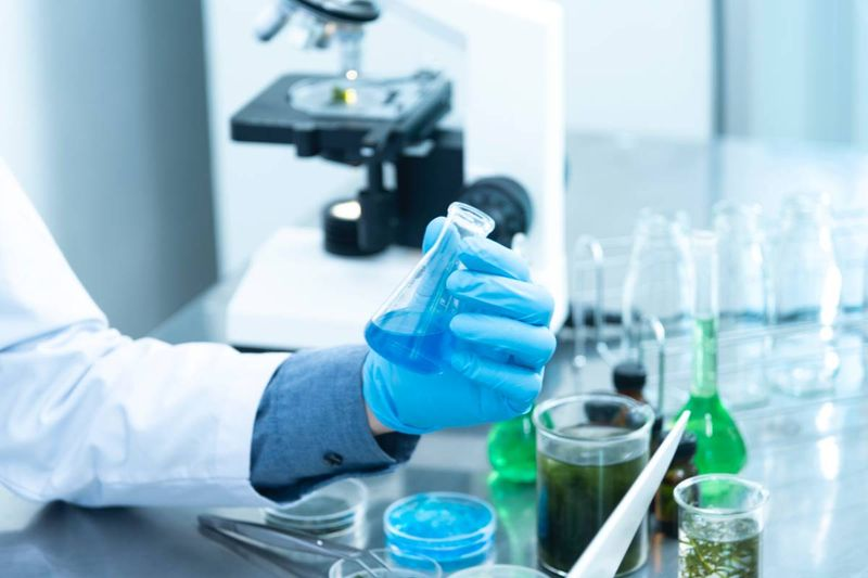 person holding laboratory flask jobs in Canada