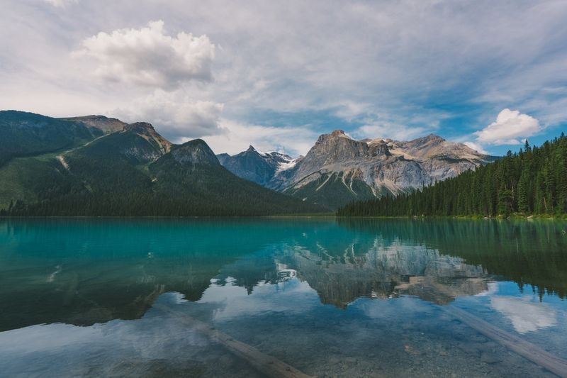A lake in Alberta, part of the Provincial Nominee Program in Canada