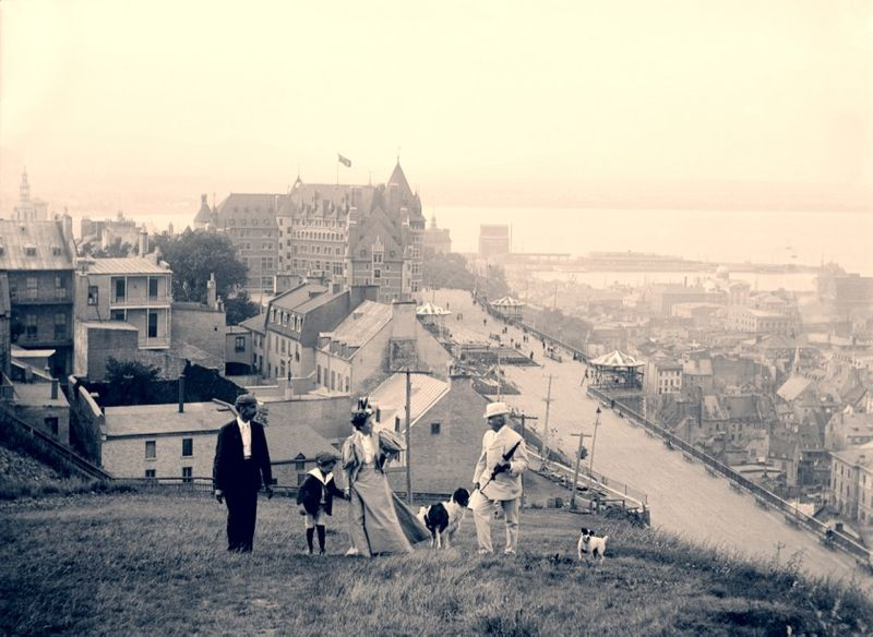 quebec city 1900s