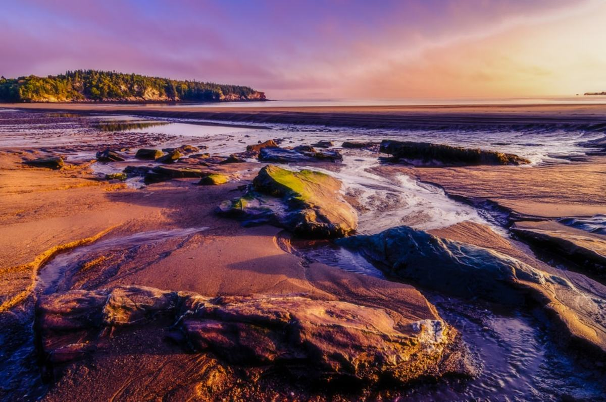 Life in New Brunswick on the coast