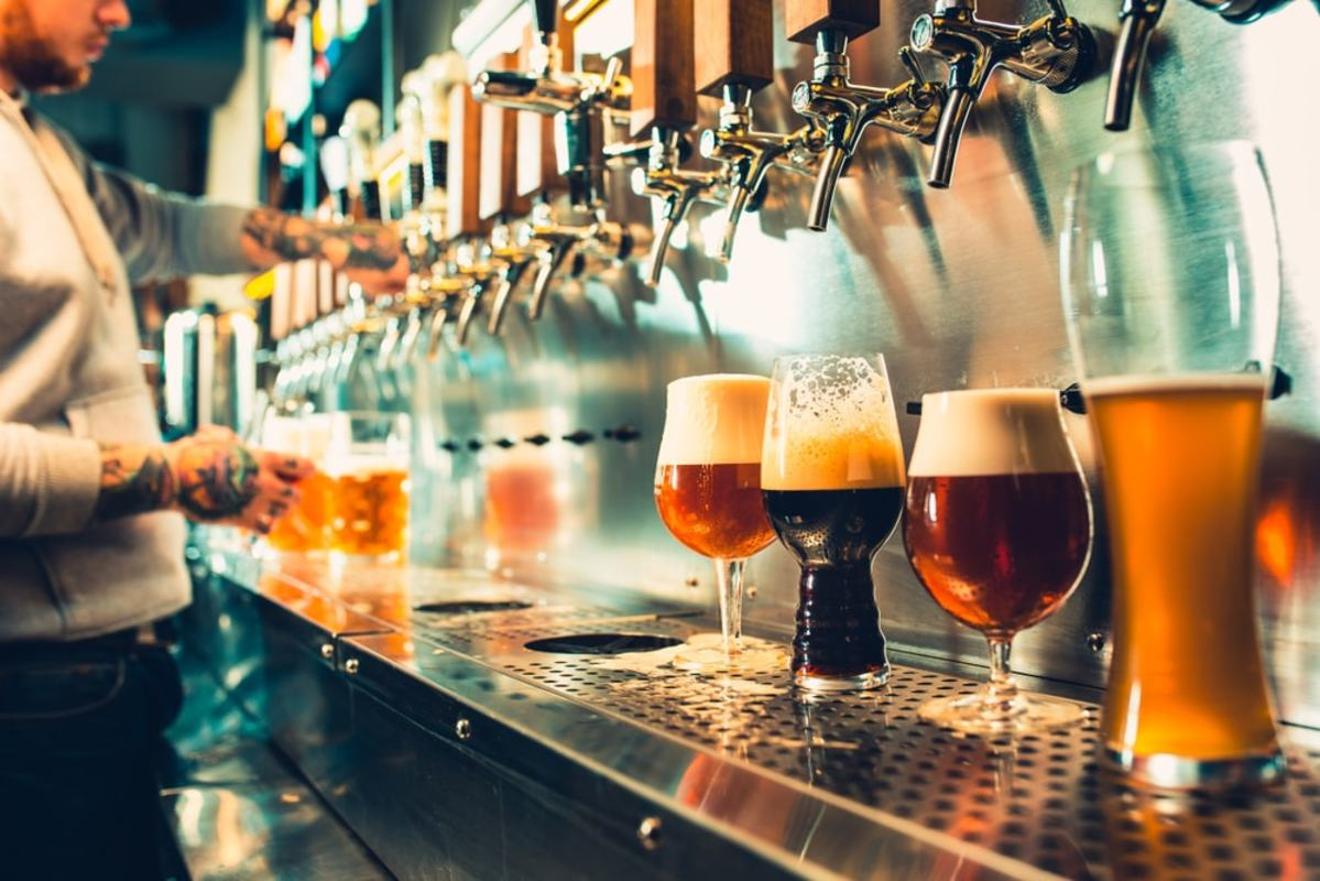 Microbreweries have become popular in cities like Saint John's.