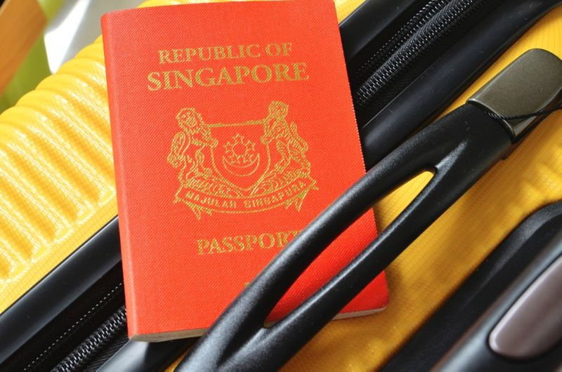 travelling from singapore