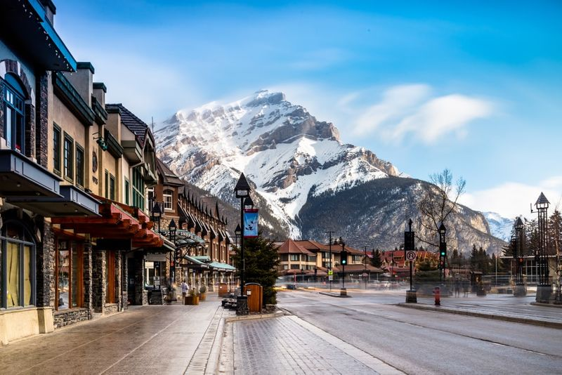 Immigrate to Canada to live in Banff.